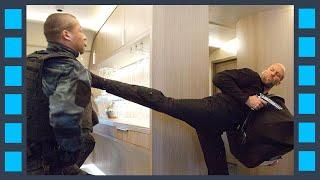 Драка на борту самолета — «Форсаж 8» (2017) сцена 6/7 HD