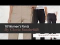 10 Women's Pants By Gloria Vanderbilt Spring 2017 Collection