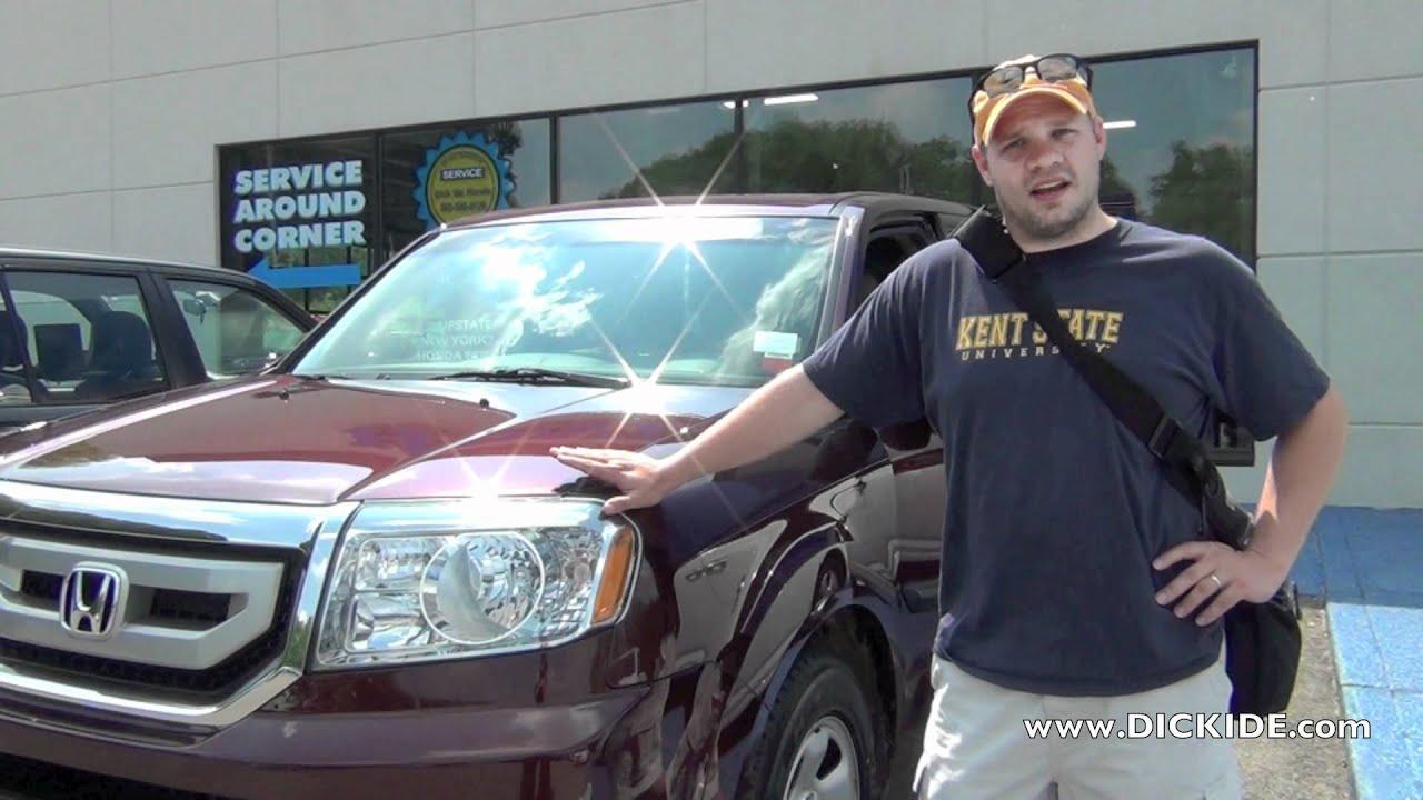 Marvelous Customer Testimonial : Brian   Honda Pilot   Dick Ide Honda, Rochester NY  Dealer Review