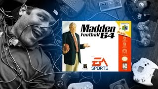 Madden 64 - Nintendo 64 (N64) - Episode 2 - Retro Sports Gamer