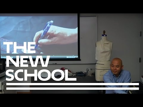 Pattern-Making Workshop with Shingo Sato | Parsons School of