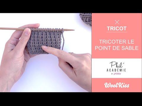 Phildar & WoolKiss - Le Point de Sable