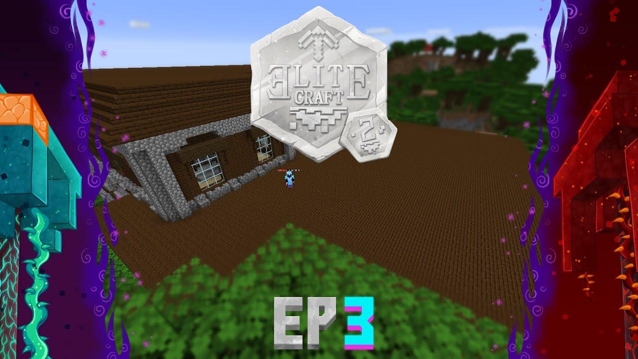 EliteCraft 2 Ep3, La mansión encantada y el Full Netherite