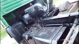 Отец и сын купили старенький КАМАЗ  53212. и сделали из него красавца