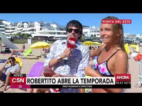 C5N - Verano 2017: Robertito abre la temporada en Punta del Este