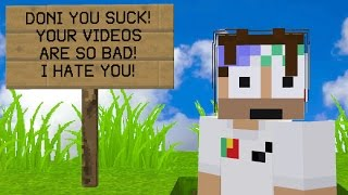 TROLLING MY BIGGEST HATER EVER ON MINECRAFT! (Minecraft Trolling)