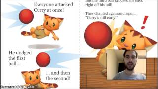 Let's Read The Curly-tailed Cat (read along video)