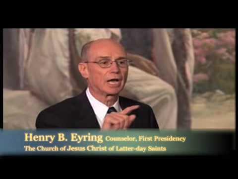 Elder Henry Eyring and Elder Cleon Skousen - Inspired Unity
