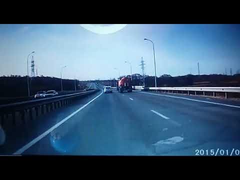 ДТП с участием Toyota Duet на трассе Де-Фриз – Новый