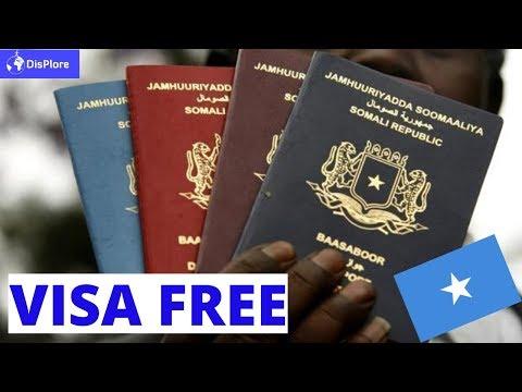 Visa Free Countries For Somali Passport Holders