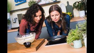 Gabrielė Martirosionaitė gamina jogurtinius sklindžius su abrikosų uogiene | 2 laida