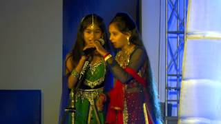 Saffron school Mash up -- Music Performance in Annual function 2013