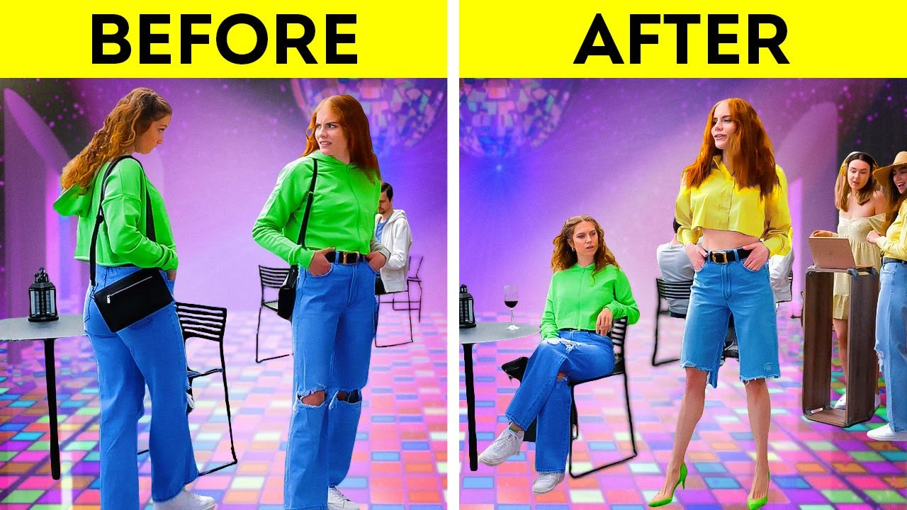 Transform Your Old Clothes👗 Super-Stylish Outfit Ideas And Clothes Decor Techniques!