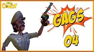 Motu Patlu 2019 | Cartoon in Hindi | Inspector Chingam Special Gags -1 | 3D Animated Cartoon Series