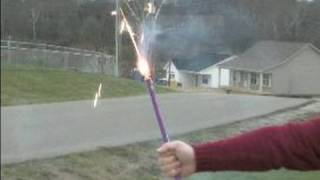 Fireworks Safety Tips : How to Shoot Roman Candles