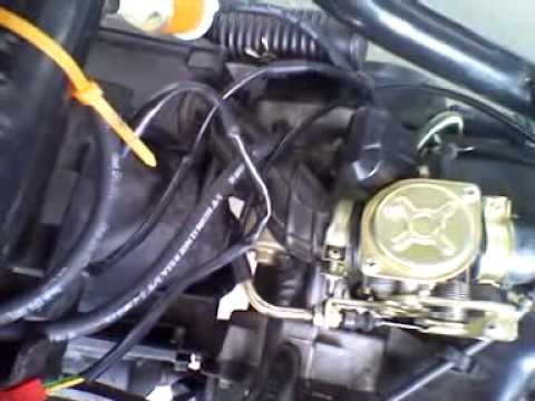 150cc Gy6 Scooter Wiring Diagram Horton C2150 49cc Peace Taotao Wont Start - Youtube