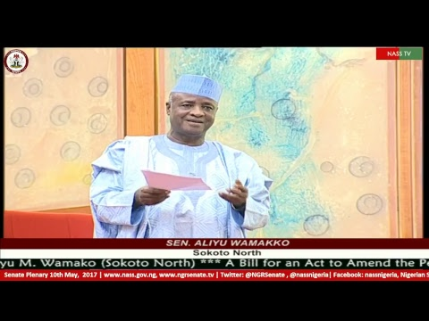 Senate Plenary, 10th  May, 2017