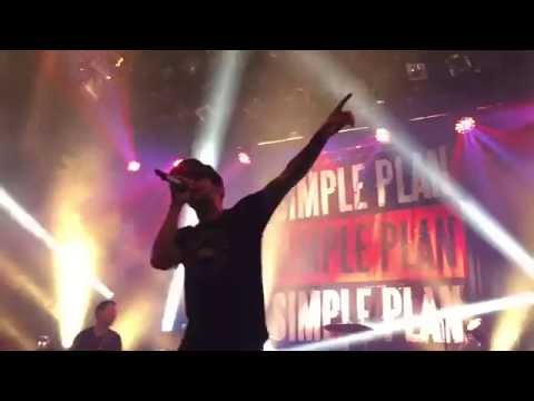 Simple Plan  Me Against The World  @ Rockefeller, Oslo 24052016