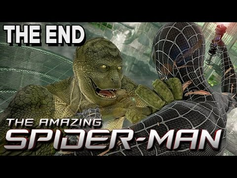 The Amazing Spider-Man Gameplay German ENDE - Die Echse Boss Fight