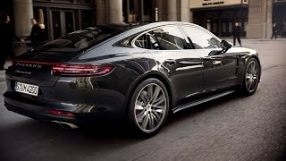 the new panamera turbo and panamera 4s in motion