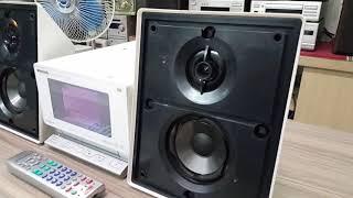Panasonic XS450 , ổ cứng HDD 80g , CD , thẻ nhớ . Chỉnh bass trep. Giá : 1tr300k . Lh 0915934119