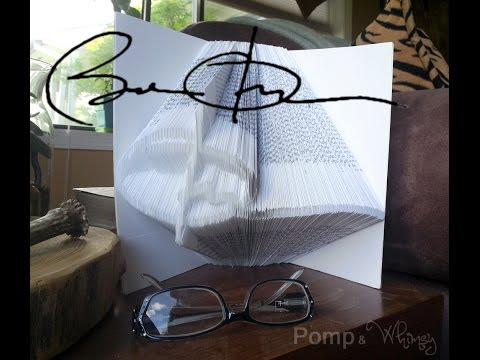 Turn a Signature into Book Art