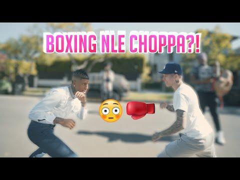 BOXING NLE CHOPPA?!