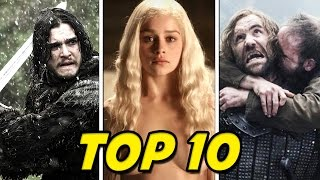 Top 10 Reasons to Watch Game of Thrones!
