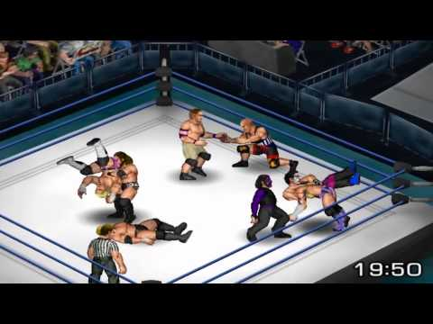 Fire Pro Wrestling R: Team TNA Vs. Team WWE - Elimination Match Madness!