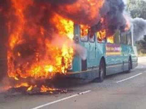Arriva Bus on Fire! This Bus is on Fire Alicia Keys Girl on Fire Parody for Arriva Malta