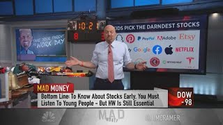 Jim Cramer: Young people have a better sense of the future