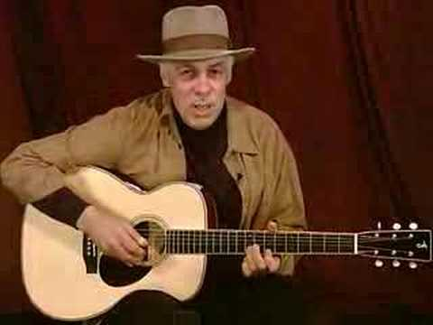 "Thumbnail: Fred Sokolow teaches ""Statesboro Blues"" in Open D Tuning"