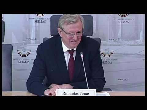 """2019-06-26 Seimo nario R. J. Dagio sp. konf. """"Ar politinės partijos Lietuvoje turi laikytis savo..."""