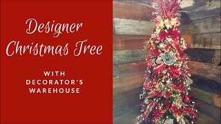 Designer Christmas Tree Decorating Tutorial
