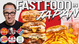 The Best Fast Food in Japan - I tried it ALL... Here's My Review | SAM THE COOKING GUY 4K
