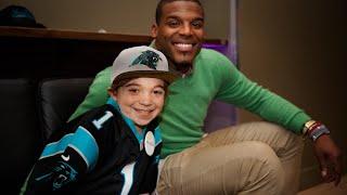 Lokai: Watch Noah's wish to meet NFL MVP Cam Newton come true