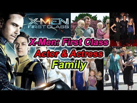 XMen First Class Actor & Actress With Family  Family Photos of XMen First Class Hero & Heroine