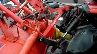 Yanmar  F-220  glebogryzarka traktorek ogrodowy. www.akant-ogrody.pl