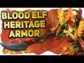 Blood Elf Heritage Armor & NPC Weapons Preview | Battle for Azeroth 8.1