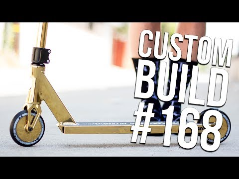 24K Gold - Custom Build #168 │ The Vault Pro Scooters