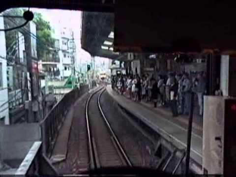 1991 Shibuya to GakugeiDaigaku 渋谷駅学芸大学駅 東横線 910601