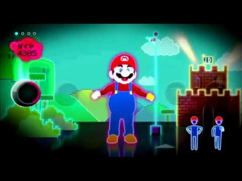 Just Dance Wii (JP version) Just Mario - Super Mario Bros