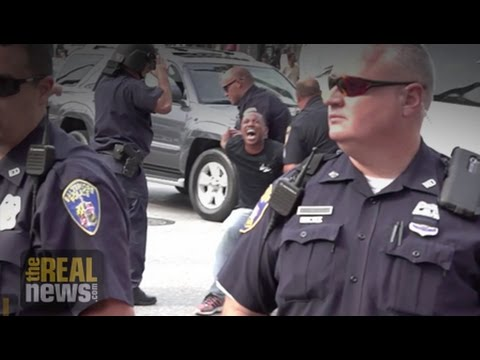 Activist Kwame Rose Arrested Outside Freddie Gray Pre-Trial Hearings