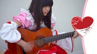 """A short song cover from Ren-kun (^(エ)^) Ren: """"Goshujin-sama, ojou-..."""