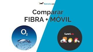 Lowi vs O2 - Comparar fibra óptica y móvil - Rastreator.com®