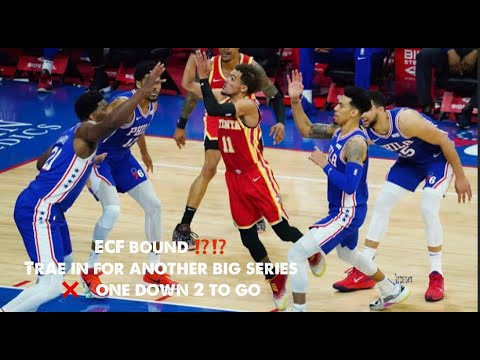 Hawks fight back to tie series as Sixers let lead slip away while ...