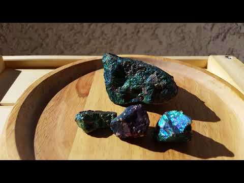 Crystals in the Sun: Chalcopyrite