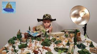 Военные Солдатики - Операция КУСТ - как Мастер Славик был Начальником - Видео для детей