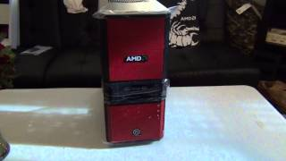 Unboxing:V3 Black AMD Edition Gaming Mid Tower Steel ATX Computer Case