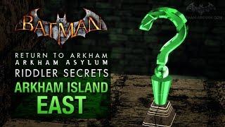 Batman: Return to Arkham Asylum - Riddler